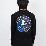 Hélas Polo Club Longsleeve T-Shirt Black