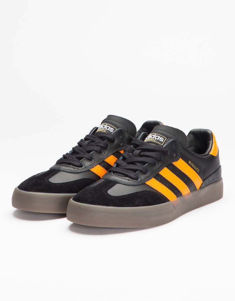 Adidas Busenitz Vulc Samba Edition Core Black/Natural/Bright Orange