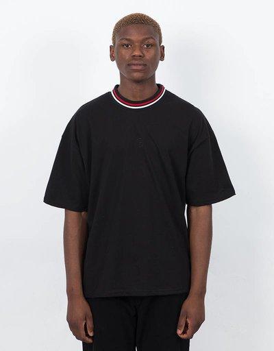 Polar Striped Rib T-shirt Black