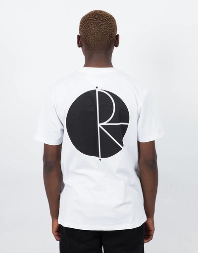 Polar Fill Logo Tee White/Black