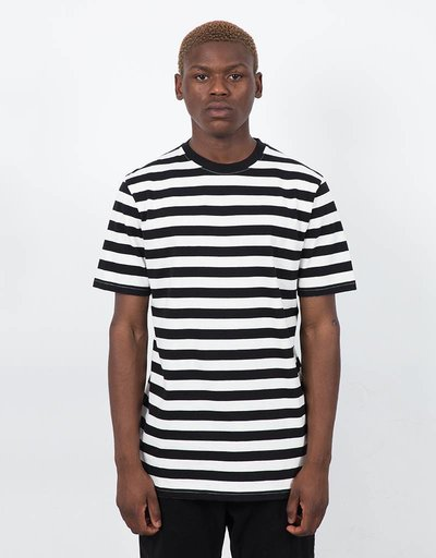 Civilist Striped T-shirt White