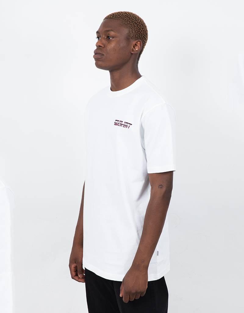 Civilist Techno T-shirt White