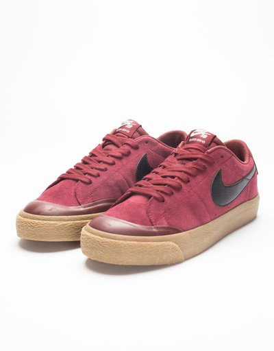 Nike SB Zoom Blazer Low Xt Dark Team Red/Black Gum
