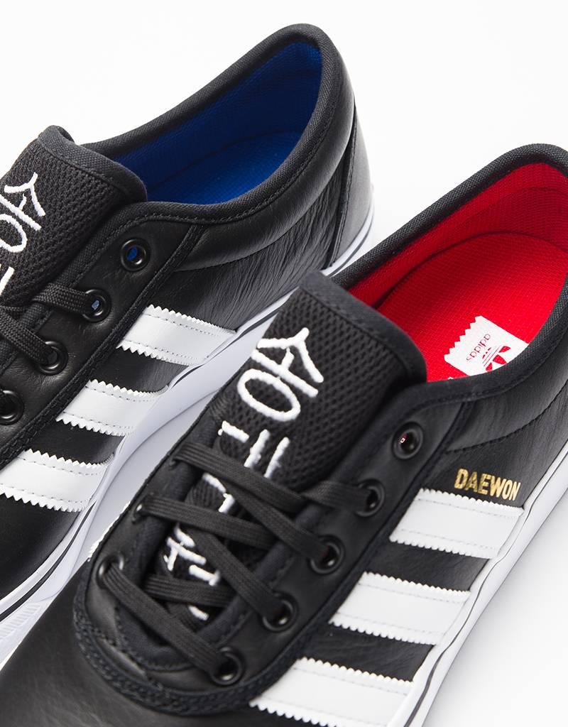 Adidas Adi ease Black White Gold