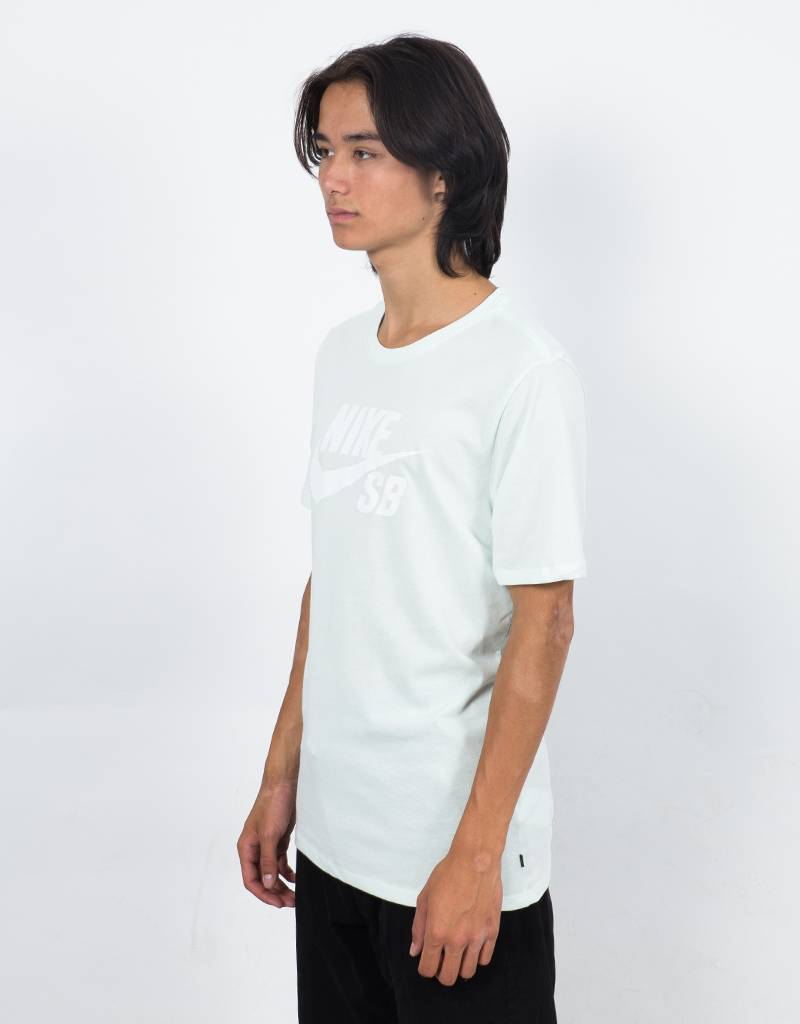 Nike Sb T-shirt Barley Green/White
