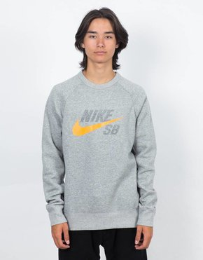 Nike SB Nike SB Icon Top Dark Grey Heather/Circuit Orange