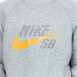 Nike SB Icon Top Dark Grey Heather/Circuit Orange