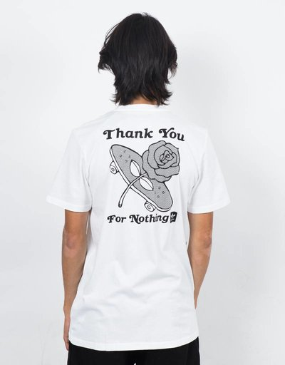 Adidas For Nothing T-Shirt White/Black