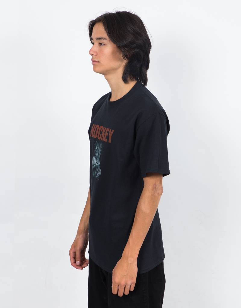 Hockey Flammable T-Shirt Black