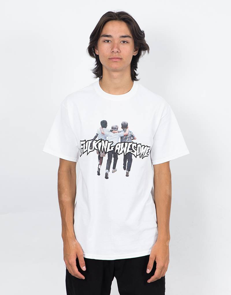 Fucking Awesome Friends T-Shirt White