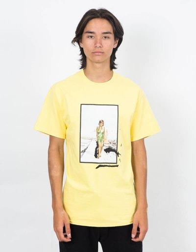 Fucking Awesome Woman T-Shirt Yellow