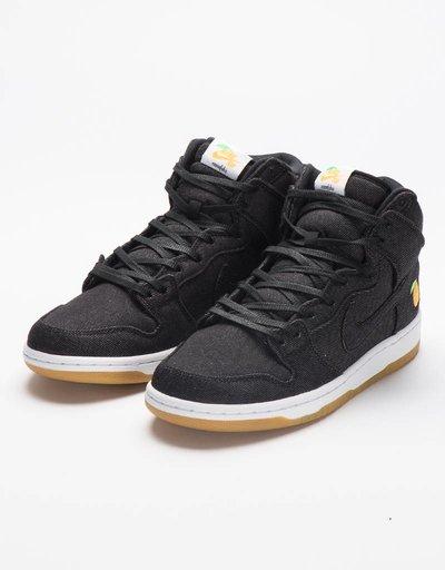 Nike SB Dunk High Denim/Orange 'Momofuku' TRD QS
