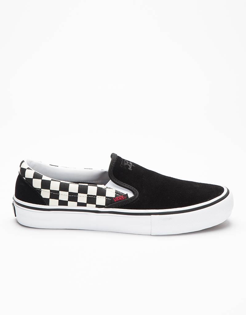 Vans x Thrasher Slip-On Pro Black/Checkerboard