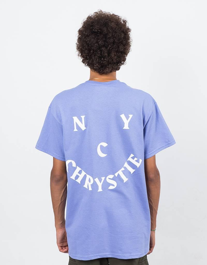 Chrystie Face Logo T-Shirt Lavender