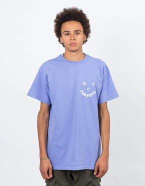 Chrystie Chrystie Face Logo T-Shirt Lavender
