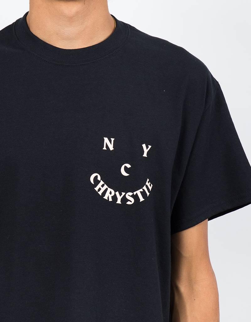 Chrystie Face Logo T-Shirt Black