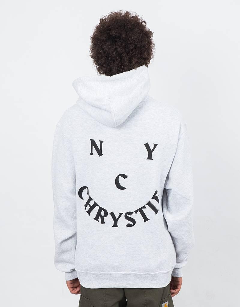 Chrystie Face Logo Hoodie Grey