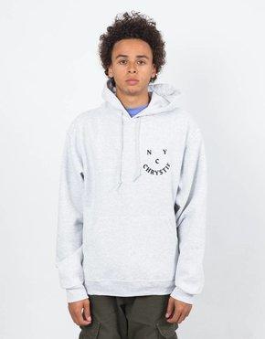 Chrystie Chrystie Face Logo Hoodie Grey
