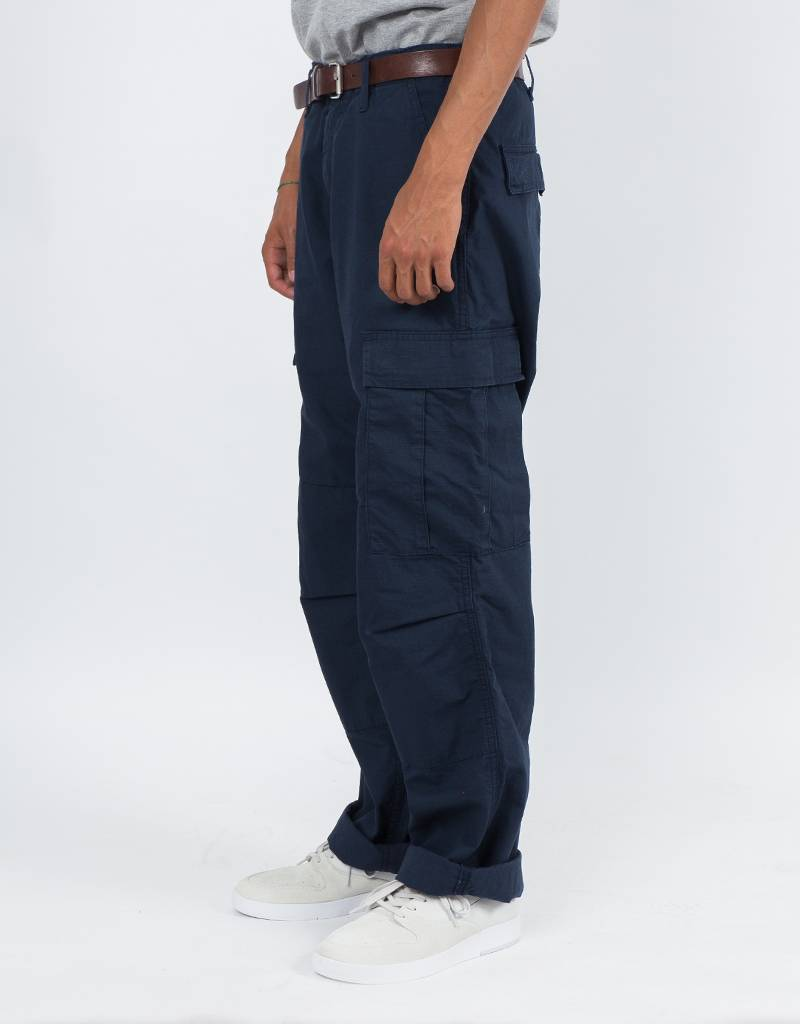 Carhartt Regular Cargo Pants Navy Rinsed