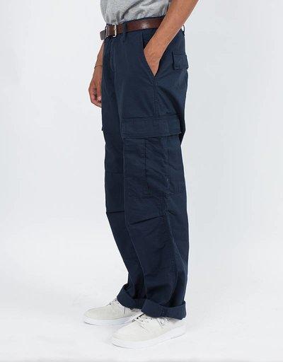 Carhartt Regular Cargo Pants Navy Rinsed