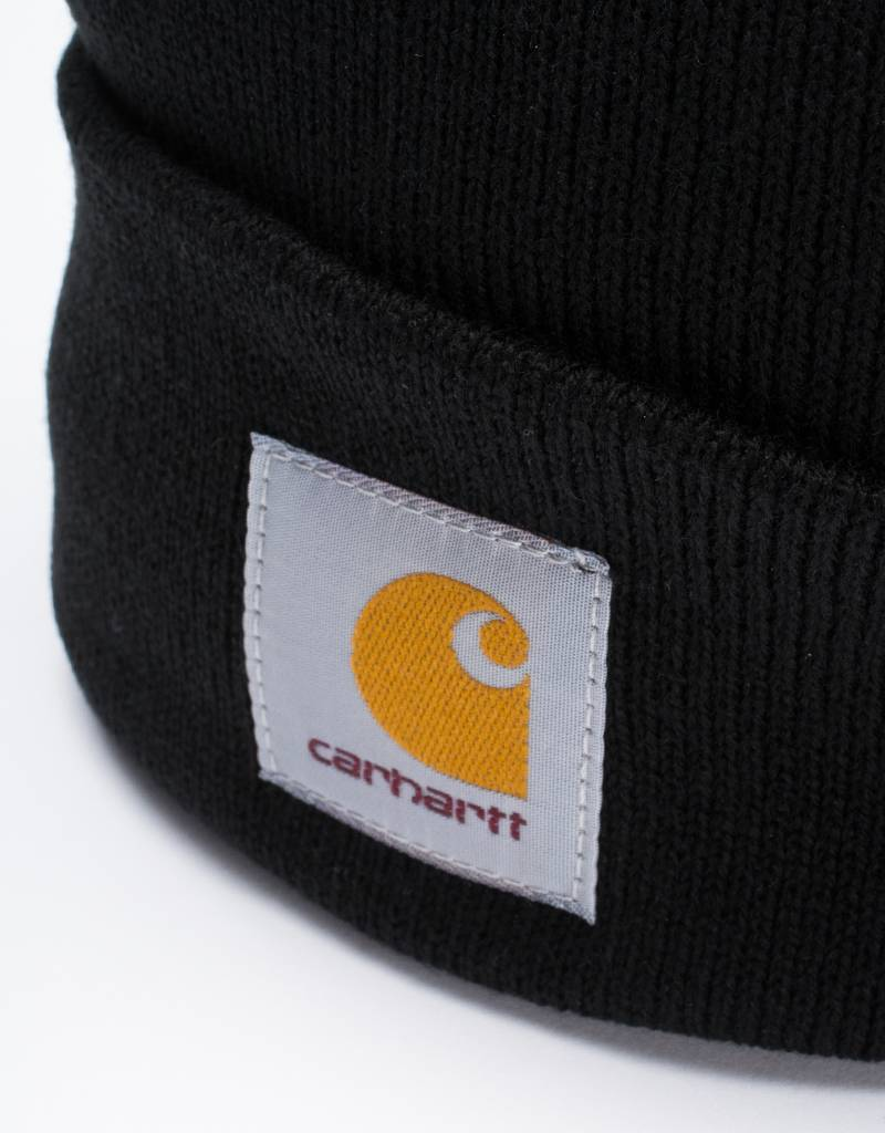 Carhartt Watch Short Beanie Black