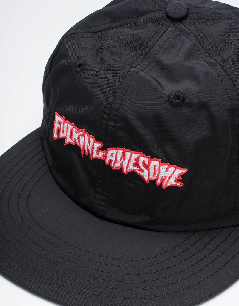 Fucking Awesome Outline Logo Cap Black