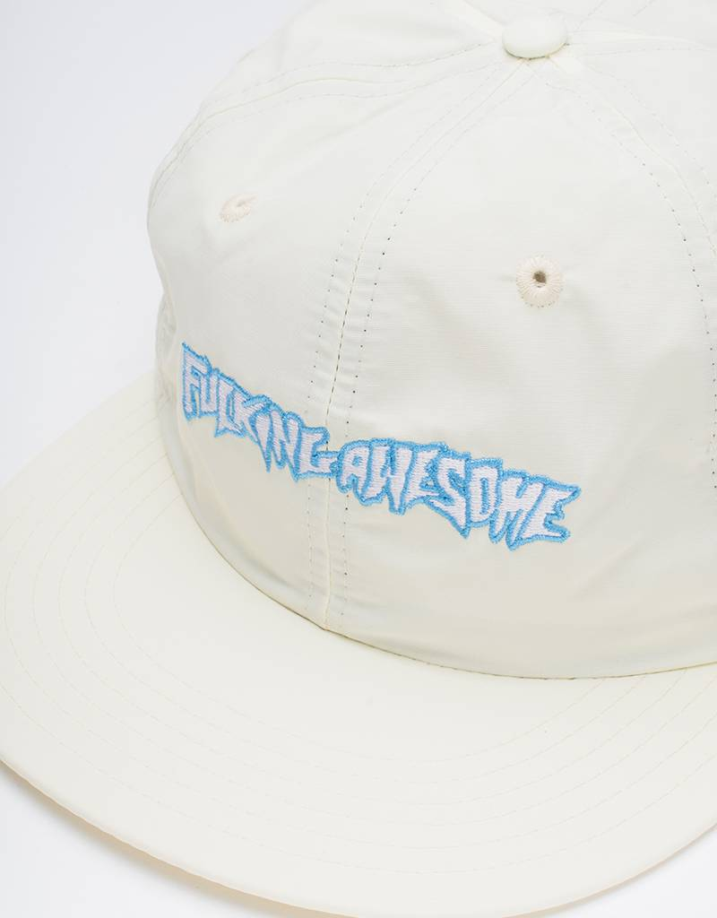 Fucking Awesome Outline Logo Cap Cream