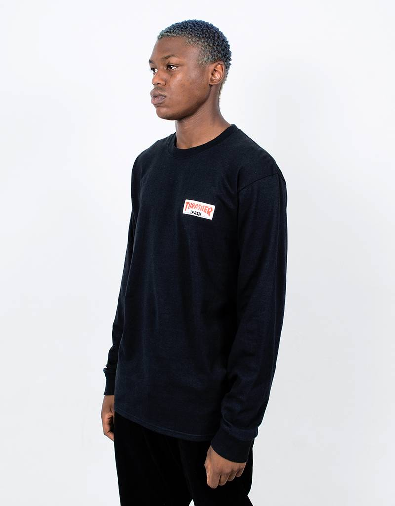 Fucking Awesome x Thrasher Thrash Me Longsleeve Black