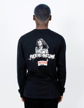 Fucking Awesome Fucking Awesome x Thrasher Thrash Me Longsleeve Black