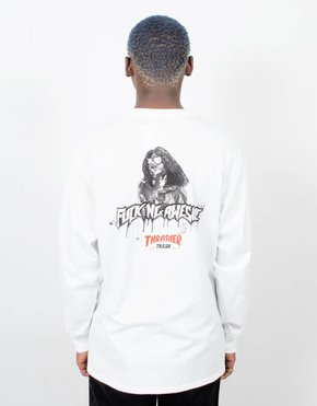 Fucking Awesome Fucking Awesome x Thrasher Thrash Me Longsleeve White