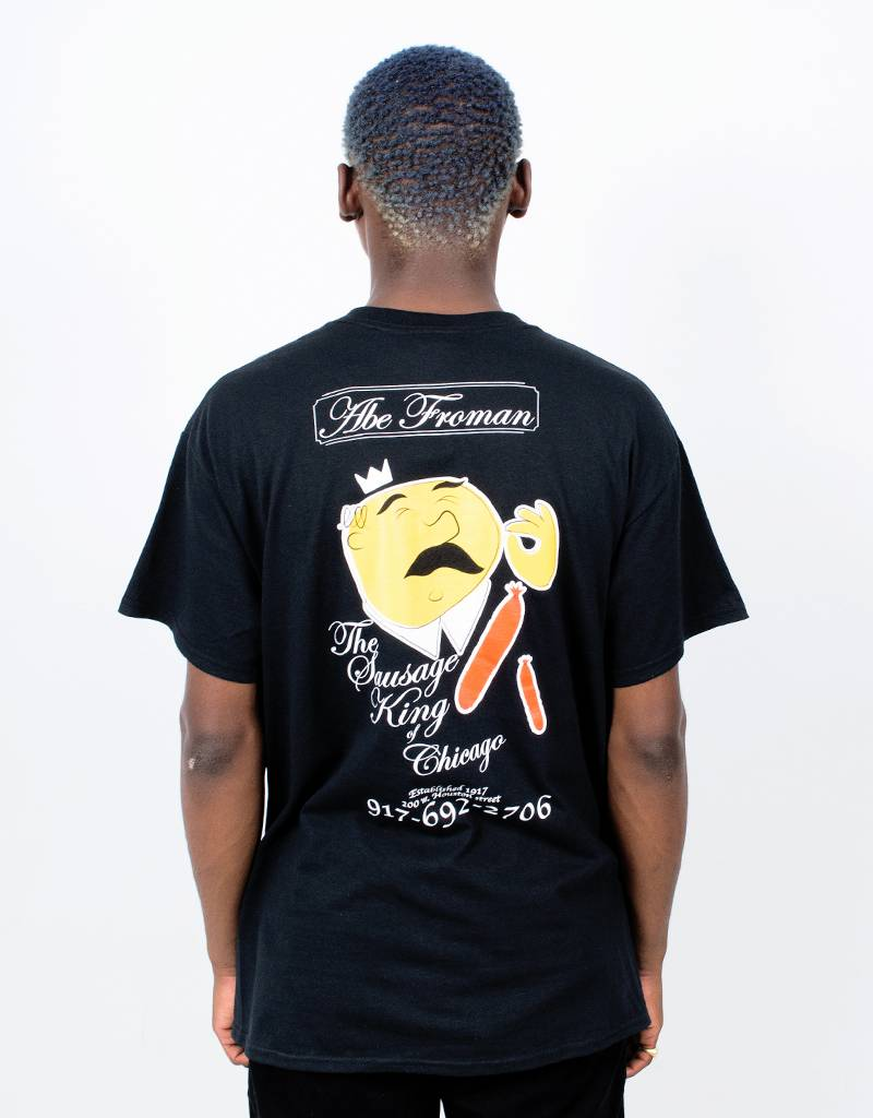 Call Me 917 Abe Froman T-Shirt Black