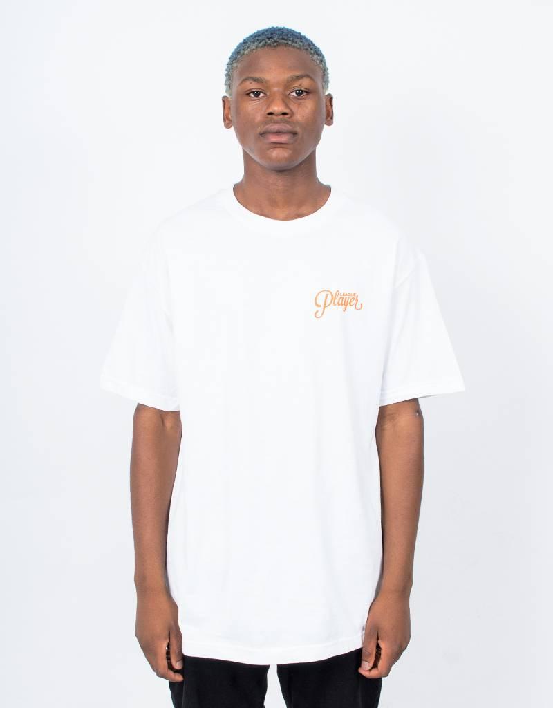 Alltimers Logo T-Shirt White/Orange