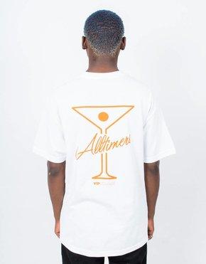 Alltimers Alltimers Logo T-Shirt White/Orange