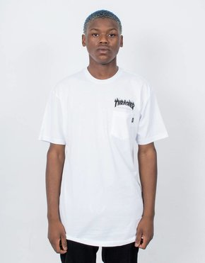 Vans Vans x Thrasher Flame Pocket T-Shirt White