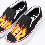 Vans x Thrasher Slip-On Pro Flame Logo