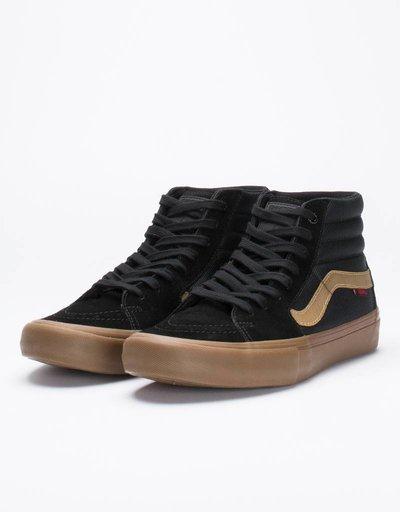 Vans Sk8-Hi Pro Black/Gum