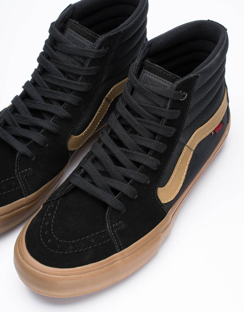 Vans X Thrasher Sk8-Hi Pro Black/Gum