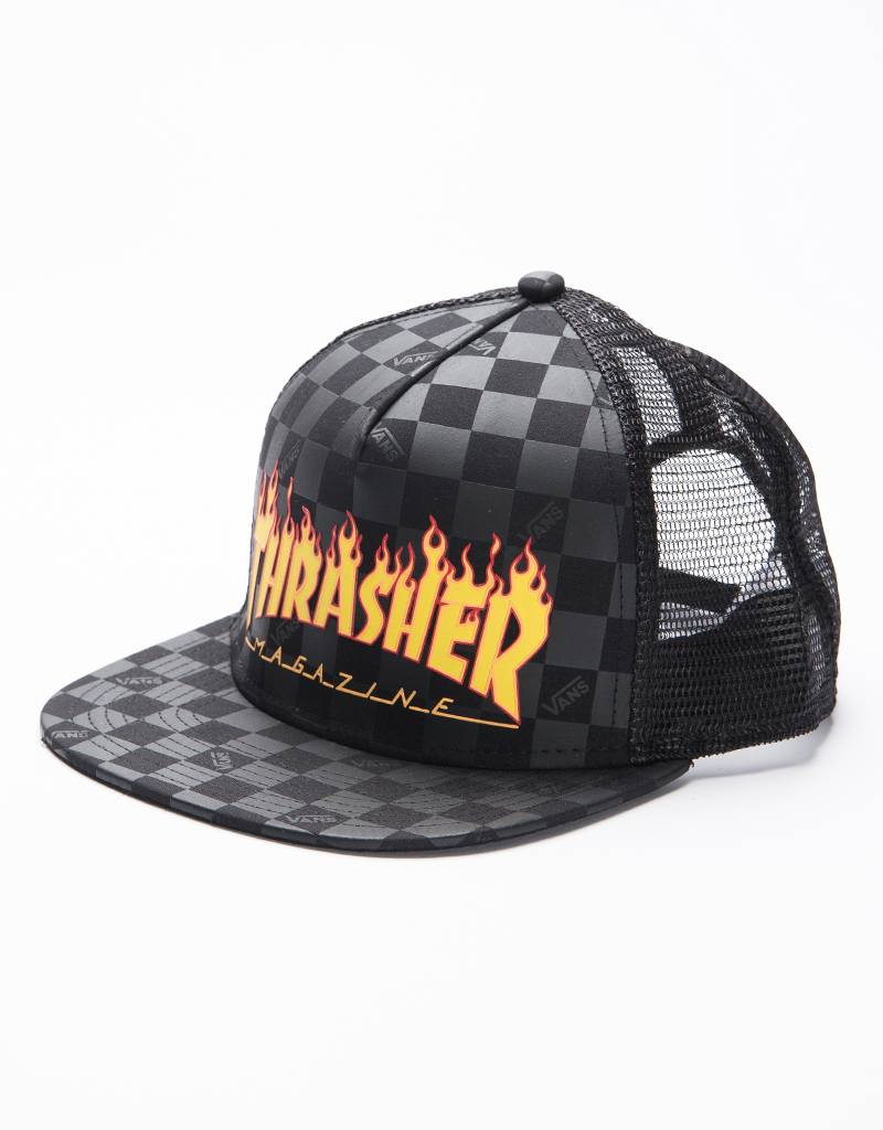 Vans x Thrasher Flame Cap black