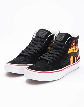 Vans Vans x Thrasher Sk8-Hi Black/Flame