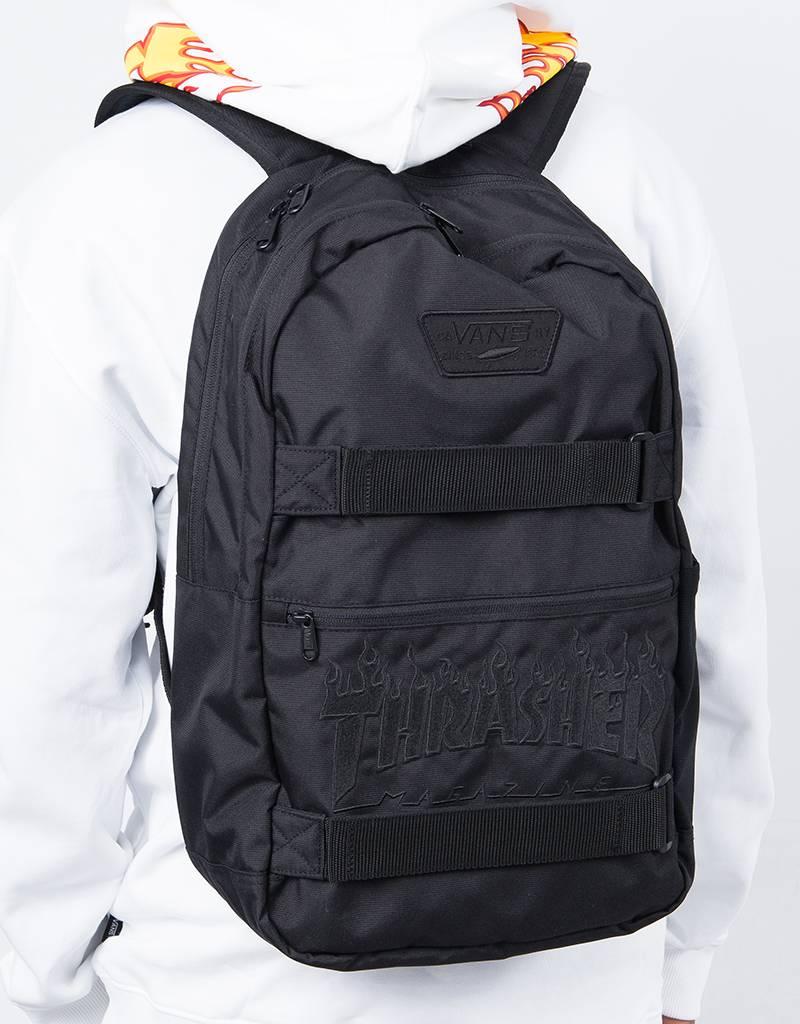 Vans x Thrasher Authentic III Backpack Black