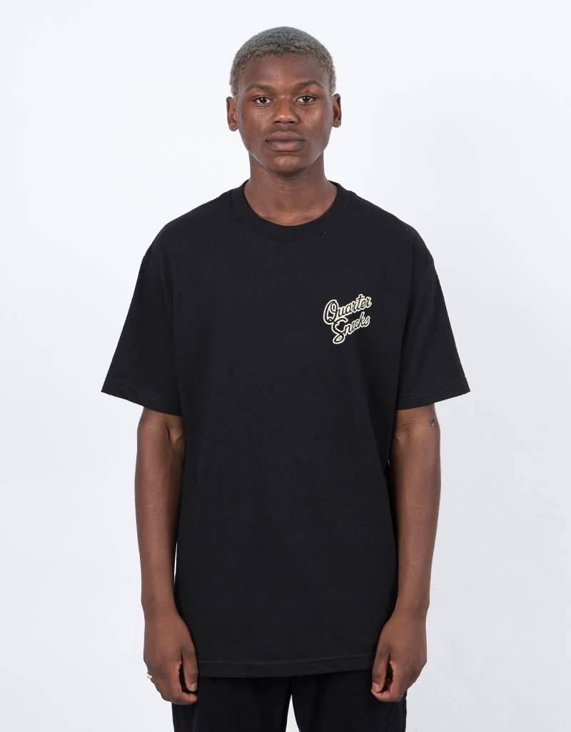 Quartersnacks Forbidden Fruit T-Shirt Black