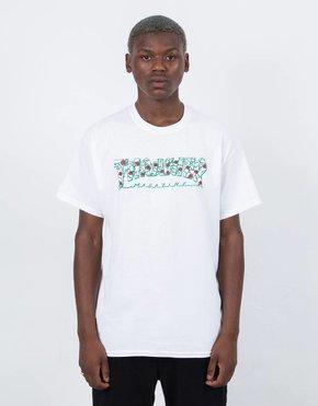 Thrasher Thrasher Roses Short Sleeve T-shirt White