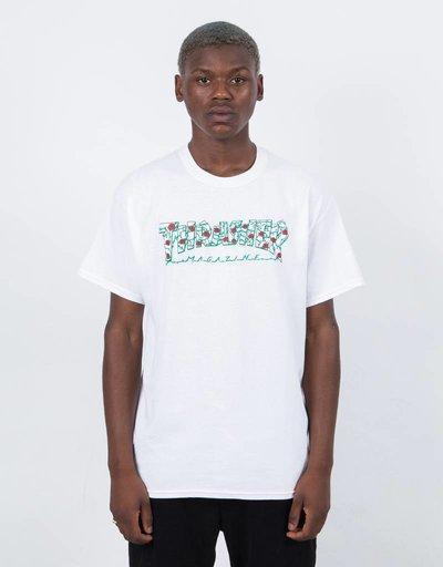 Thrasher Roses Short Sleeve T-shirt White