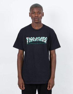 Thrasher Thrasher Roses Short Sleeve T-shirt Black
