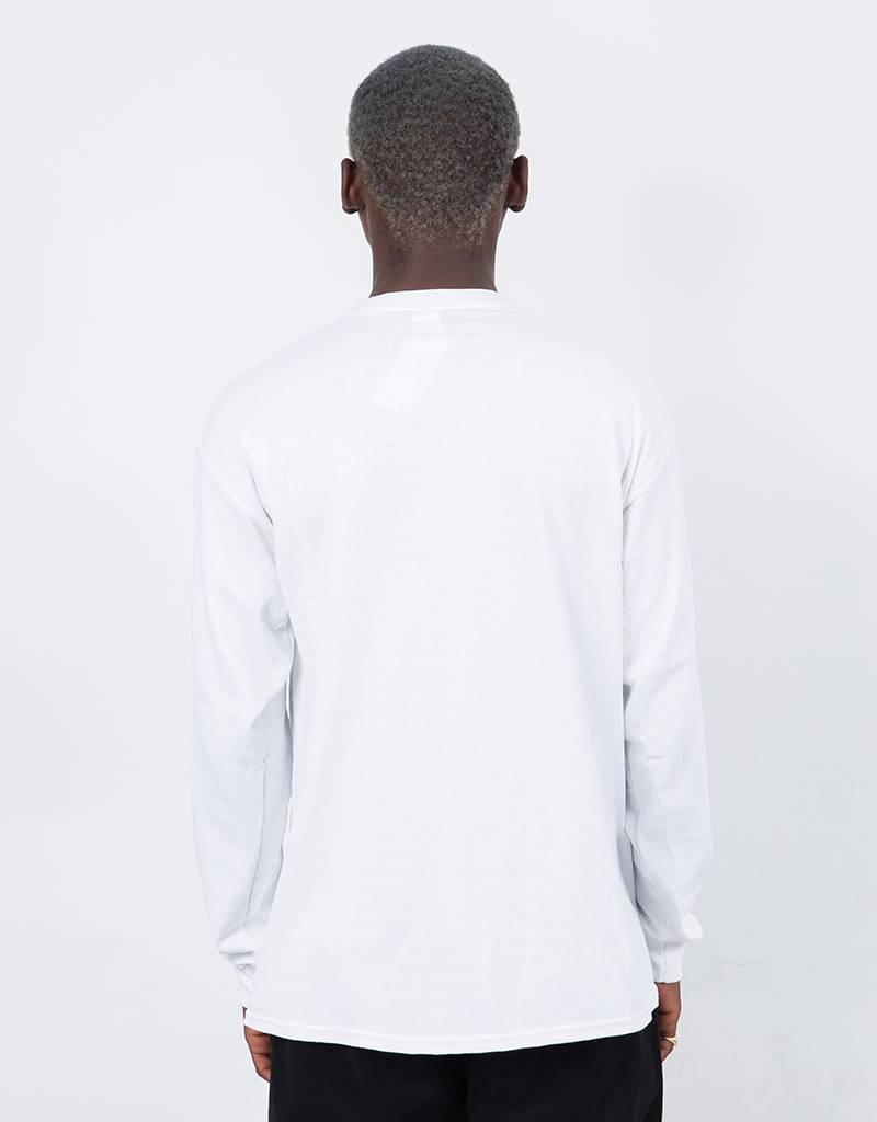 Thrasher Tattoo Longe Sleeve T-shirt White