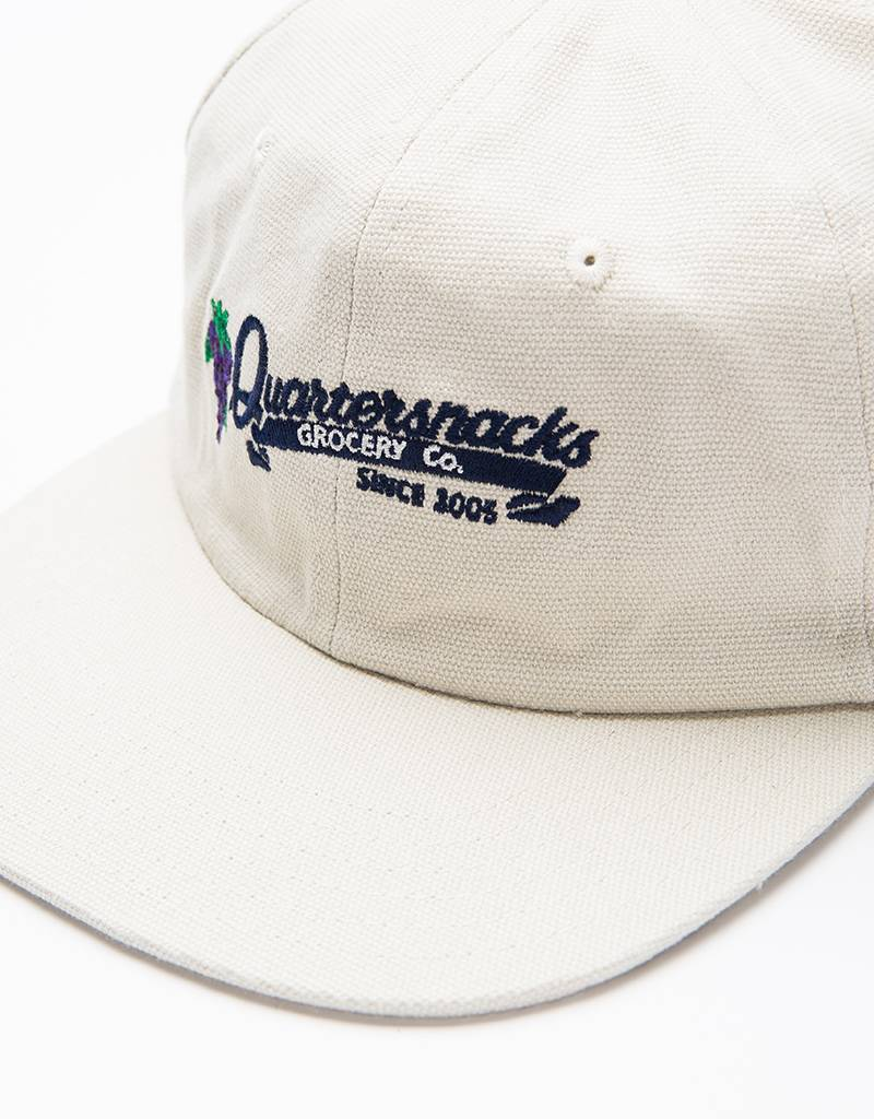 Quartersnacks Grocery Cap Natural Canvas