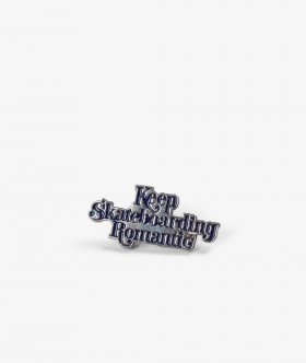 Quartersnacks X Streetmachine pin