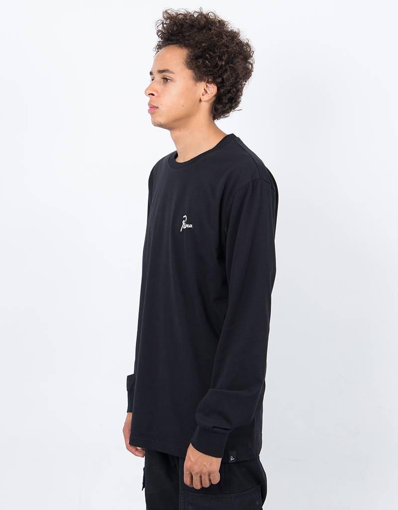 Parra Flame Holder Longsleeve T-Shirt Black