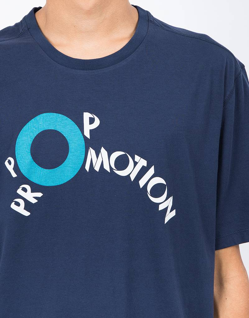 Pop Trading Co Promotion T-Shirt Navy