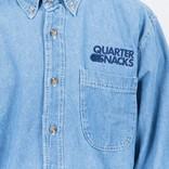 Quartersnacks Journalist Shirt Light Denim